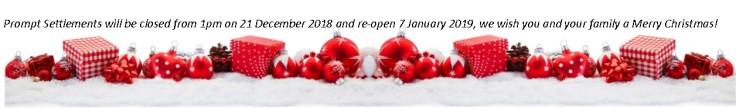 PromptSettlements christmas 2018